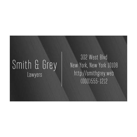 Business Card Template Using Century Font by Designing Business Cards For Lawyers Tips Tricks And