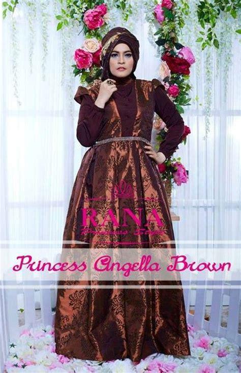 model gaun pesta yang elegan Gaun Pesta Muslim Princess