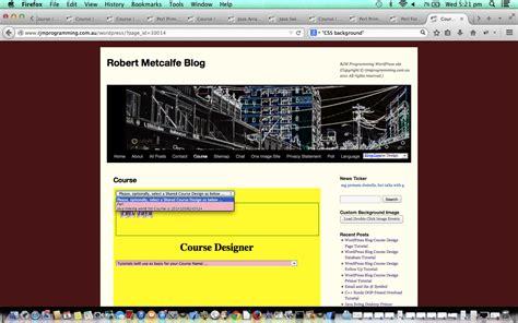 tutorial design blog wordpress blog course design looks tutorial robert