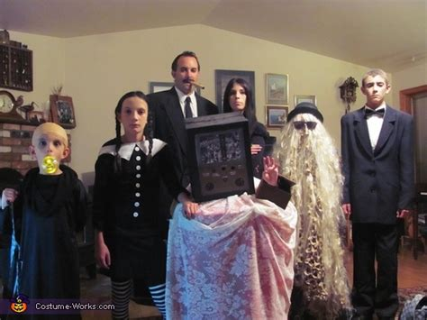 addams family costume