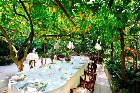 best restaurants in sorrento garden restaurant in sorrento sorrento amalfi coast