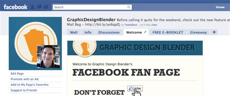 fb fan page elements of an awesome facebook page for your design business