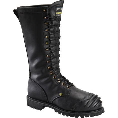 mining boots matterhorn 16 inch waterproof met guard steel toe mining