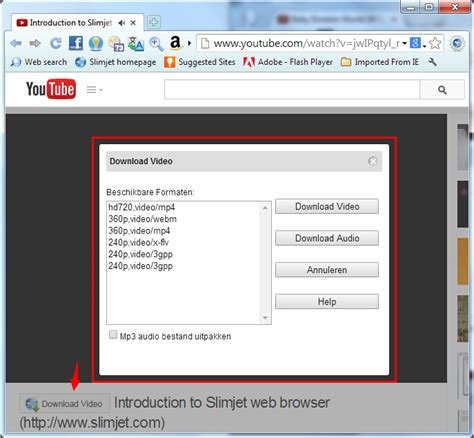 mp3 download youtube nl slimjet screenshots