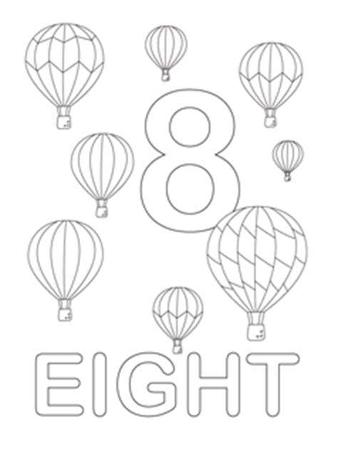 Number Coloring Pages Mr Printables Coloring Pages For 8 And Up