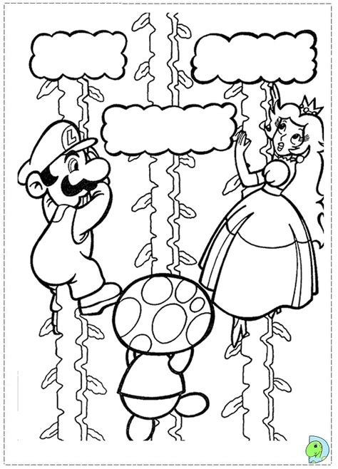 new super mario bros2 free coloring pages