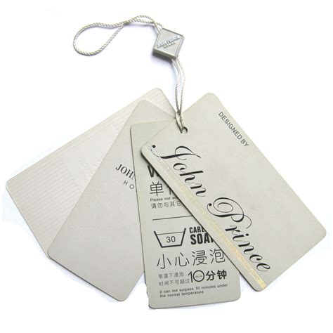 China Swing Label China Tag Garment Accessories