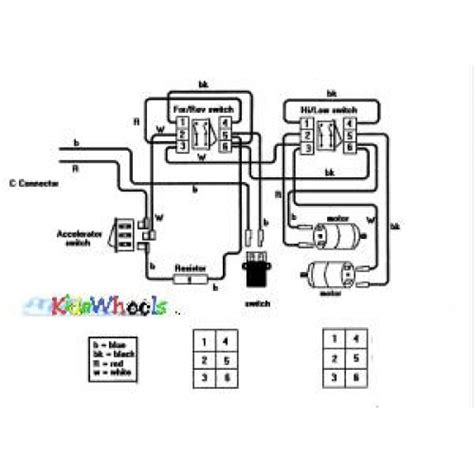 12 18 24 volt single battery ride on wiring diagram