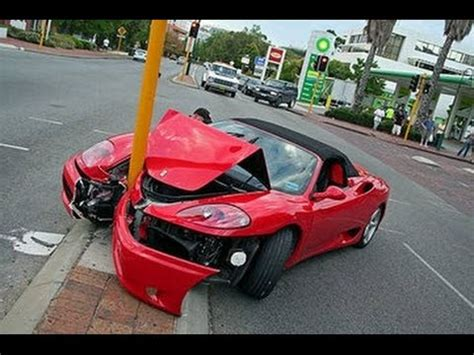 crashed red lamborghini lamborghini huracan crash at 300 km h youtube