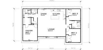 3 bedroom transportable homes floor plans 3 bed house floor plan rear extension google search