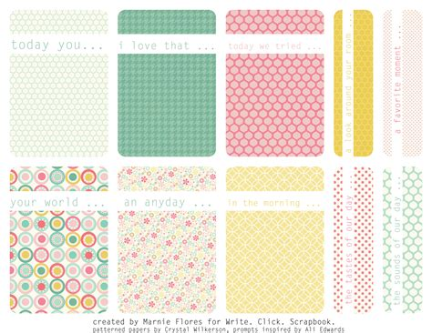 printable tags scrapbooking 6 best images of scrapbook journaling tags free printable