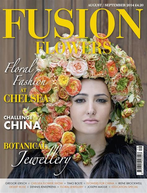 layout magazine flower 17 best images about fusion flowers magazine on pinterest