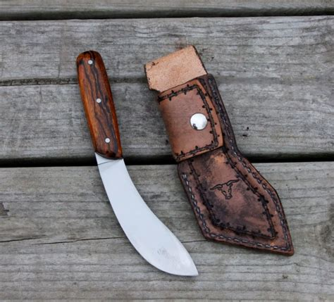 Handmade Skinning Knives - speh custom knives buffalo skinning knife
