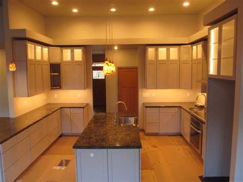 Kitchen Soffit Design Space Above Soffit In Kitchen