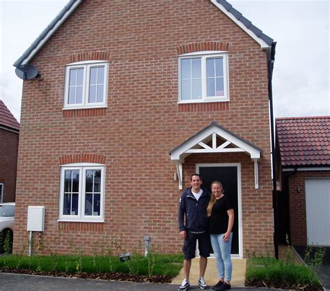 happy purchasers at mill view cowbit ashwood homes