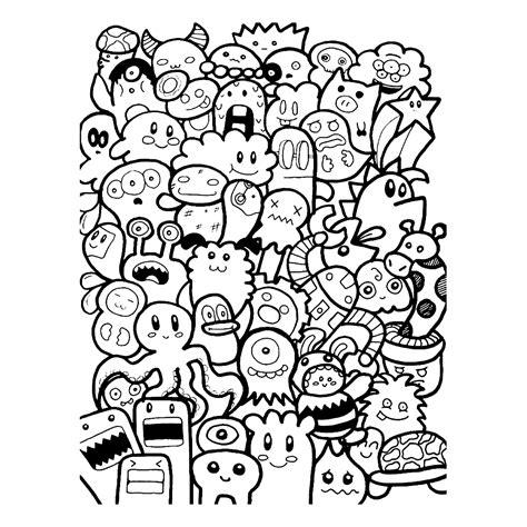 doodle by doodles kleurplaten kleurplatenpagina nl boordevol