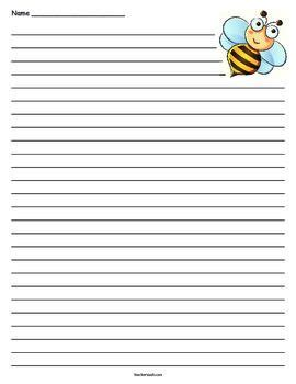 bee writing paper 17 best images about bee on bumble bees