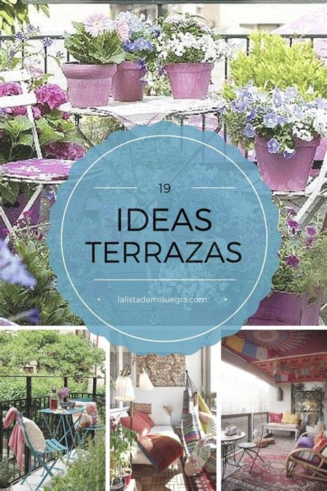 ideas decorar terraza 100 ideas to try about ideas para terrazas mesas