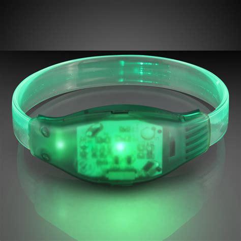 led light sound activated custom sound activated light up led bracelets