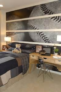 Decorating Ideas For Baseball Bedroom More Boys Baseball Themed Rooms