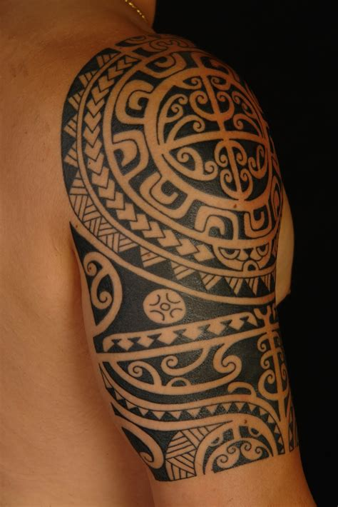 polynesian tribal tattoo designs maori polynesian polynesian shoulder on anthony