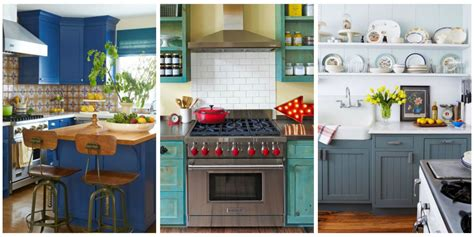 blue kitchen ideas 10 beautiful blue kitchen decorating ideas best blue