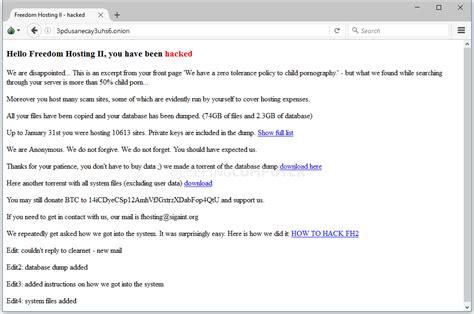 deep web cplinks anonymous hacks and takes down 10 613 dark web portals