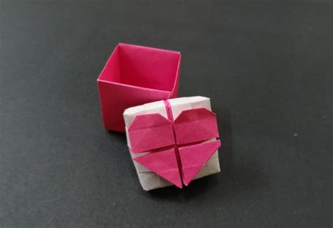 tutorial origami heart box the 92 best images about origami birds cranes swans etc