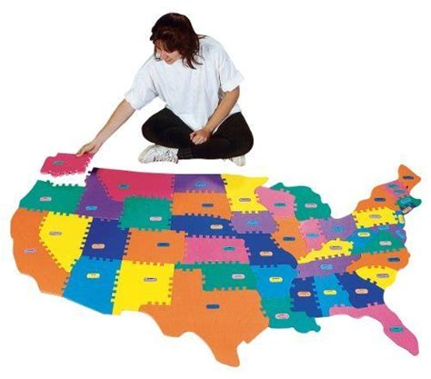 usa map foam puzzle pin by noah colombini on puzzles floor puzzles
