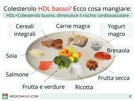 alimenti contro colesterolo colesterolo hdl basso sintomi cause e rischi cosa mangiare