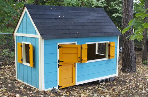 diy playhouse white playhouse diy projects