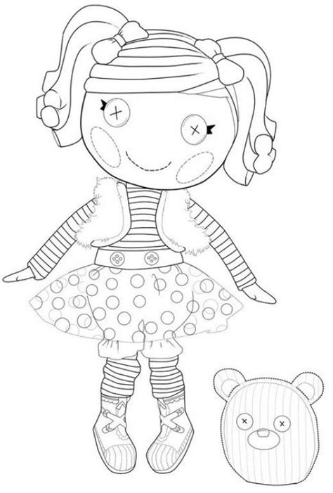 coloring page lalaloopsy dolls the best lalaloopsy dolls coloring pages