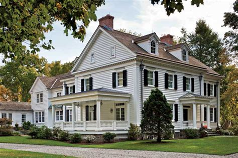 classic new england house plans an elegant new england federal old house online old