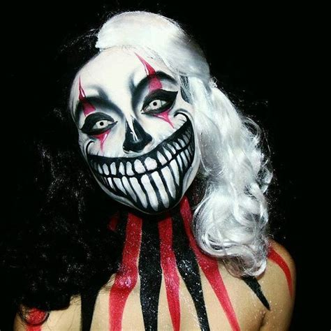 Best 10 Scary Clowns Ideas by Evil Jester Clown Makeup Every Of Clown Makeup You