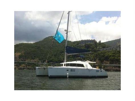 catamaran sailing hong kong lagoon 440 in hong kong catamarans sailboat used 55524
