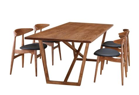 Walnut Wood Dining Table Ark Walnut Wood Dining Table Brickell Collection Modern