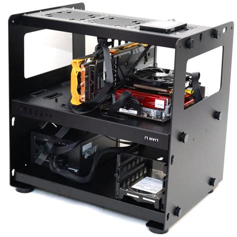 lian li test bench lian li pc t80 modular test bench chassis review page 3