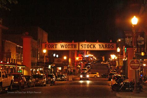 fort worth kid s day out in cowtown visting the fort worth stockyards with suitcases and