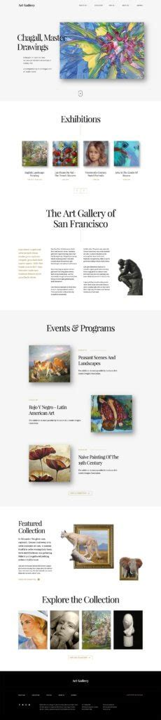 art gallery themes wordpress art gallery wordpress theme arte by curly themes