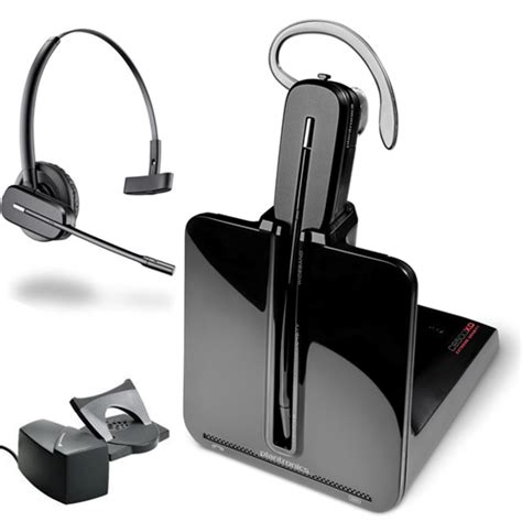plantronics cs540 convertible headset for desk phone plantronics cs540 xd convertible wireless headset system