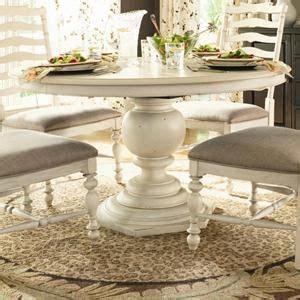 nfm  paula deen home  pedestal table  linen