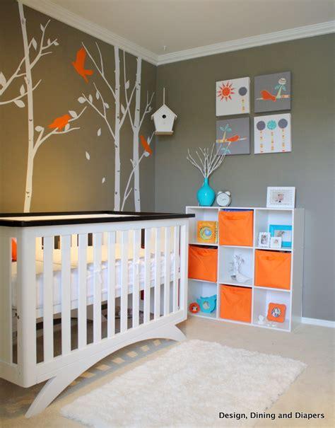 Good Chambre Bebe Orange Et Marron #7: Gender-neutral-bird-inspired-nursery.JPG