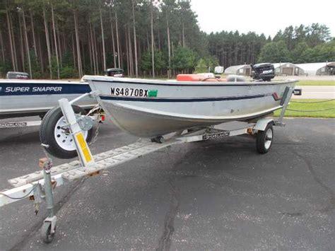 used alumacraft boats in wisconsin alumacraft boats for sale in wisconsin
