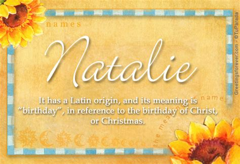 what does the name natalie name meaning natalie name origin name natalie