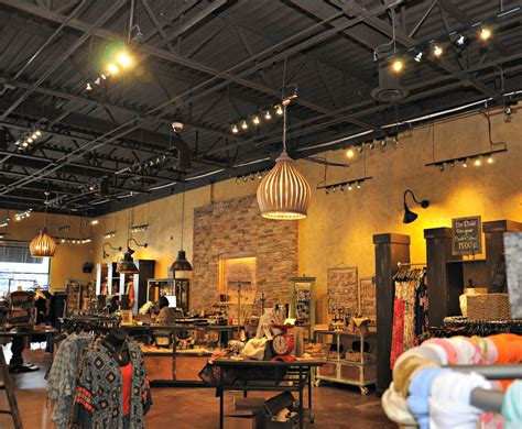 black light shops exposed ceiling retail space lizard thicket atlanta