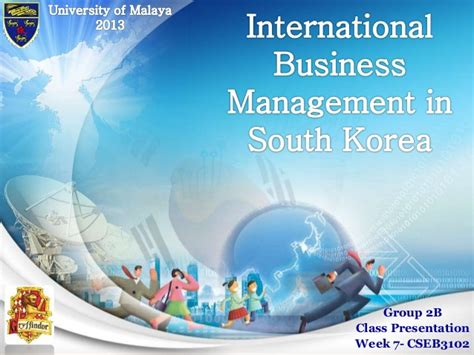 Global Mba Programs In Korea Quora by International Business Management Ibm Focus Study South