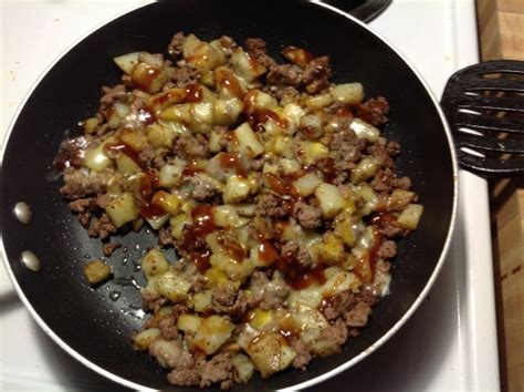 ground beef and potatoes oh so simple recipe food com