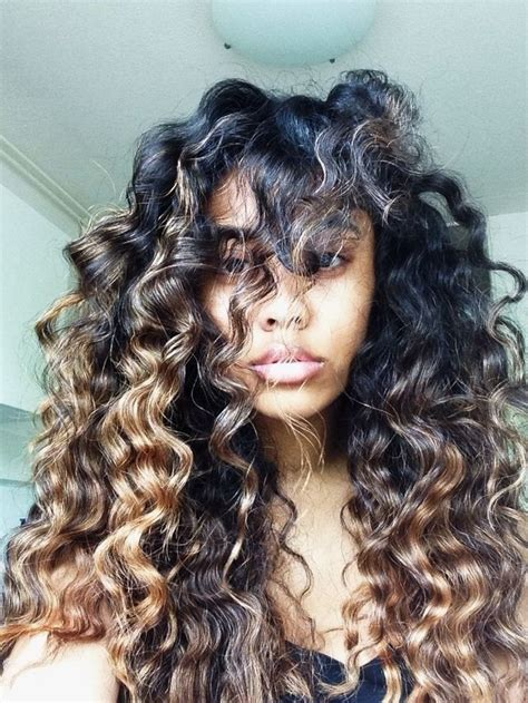 can u dye lord cliff afropuff hair the 25 best curly highlights ideas on pinterest curly