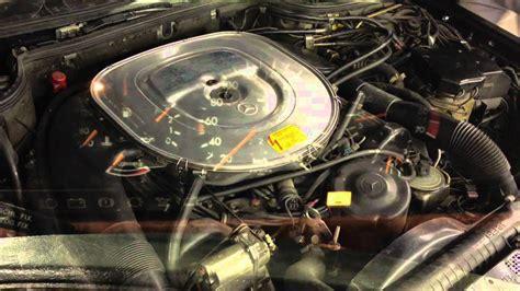 on board diagnostic system 1993 mercedes benz 300se auto manual m117 e50 idle leerlauf motor w126 youtube