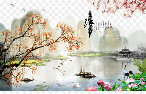 china landscape painting oil painting china wind